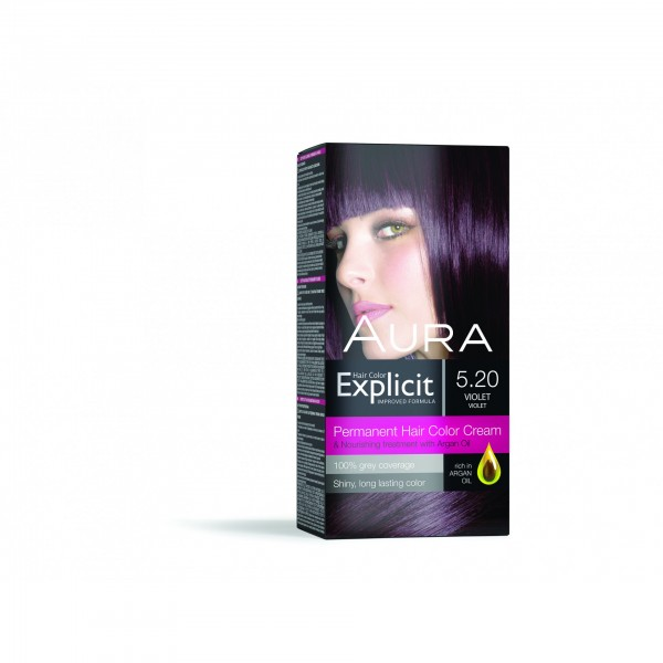 Explicit Hair Color 5.20 New Violet